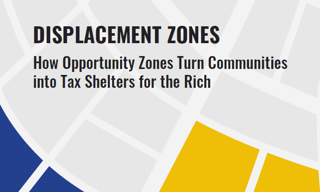Opportunity Zones and Disaster Capitalism