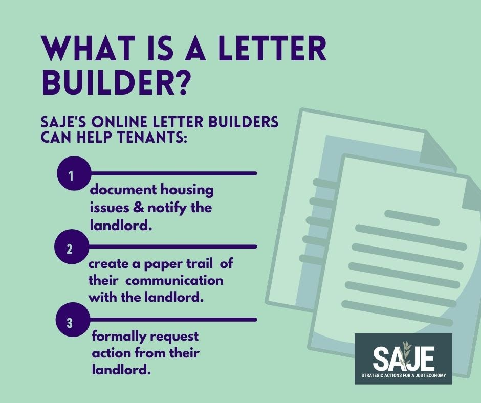 What is a Letter Builder?