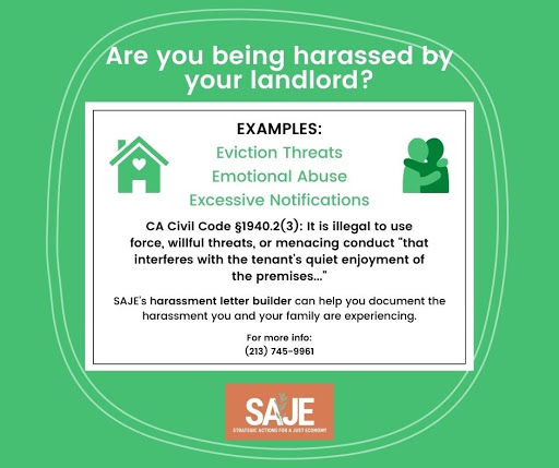 Have You been Harassed by Your Landlord?