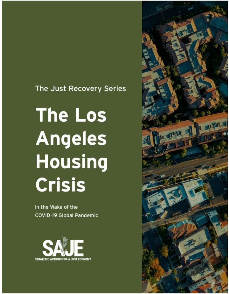 South Central Community Organizations & Tenants Demand a Just Recovery