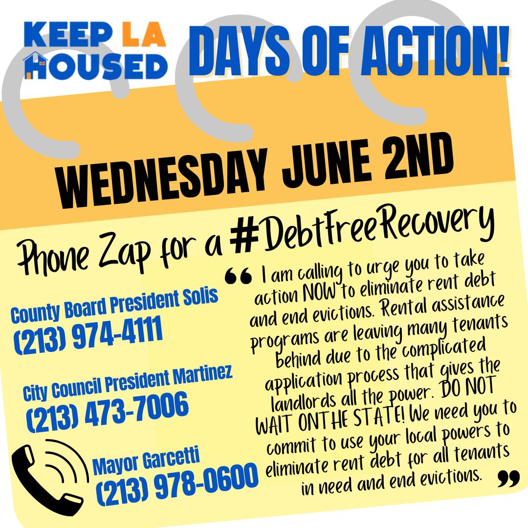 Keep LA Housed Phone Zap